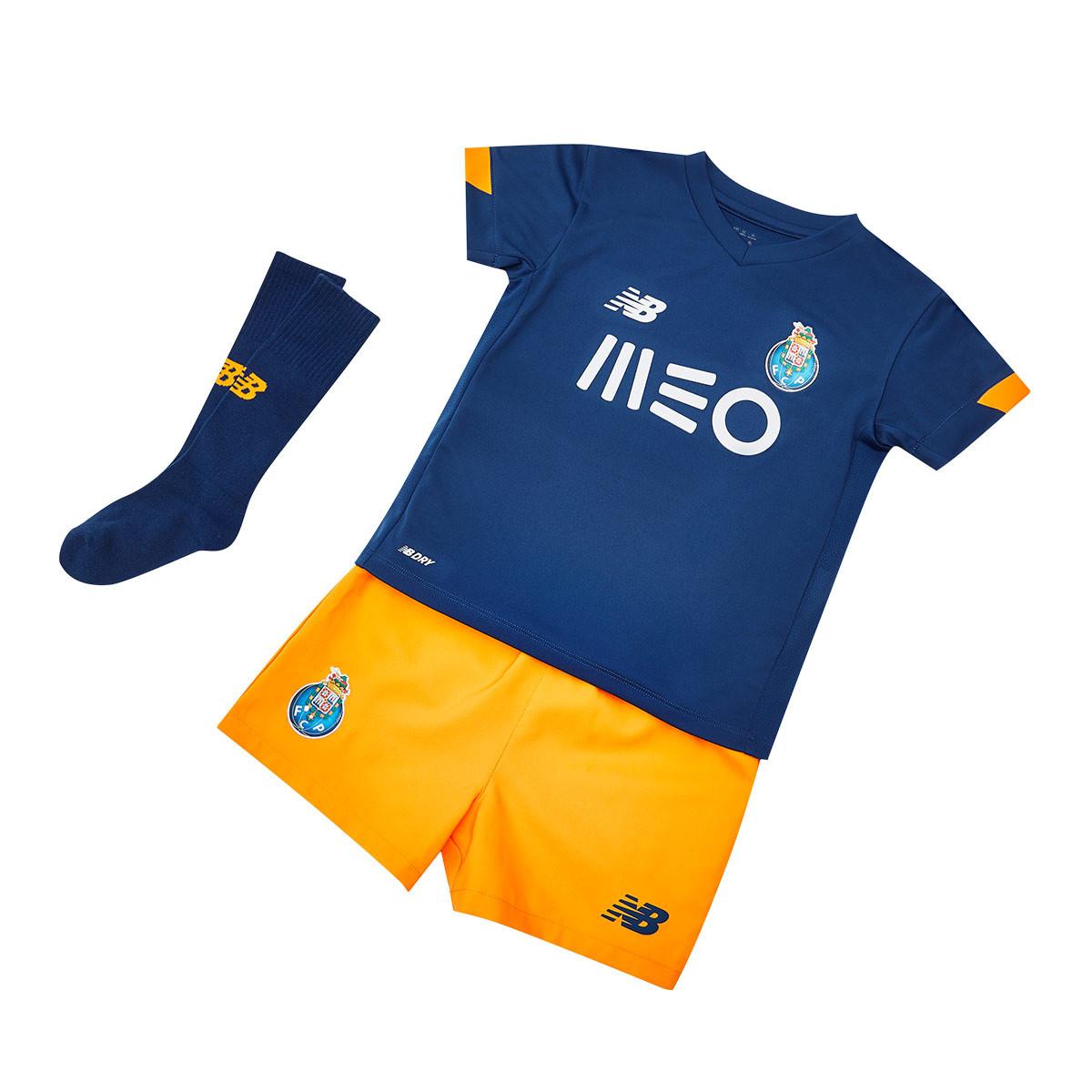 Completo New Balance FC Porto Secondo Kit 2020-2021 Bambino