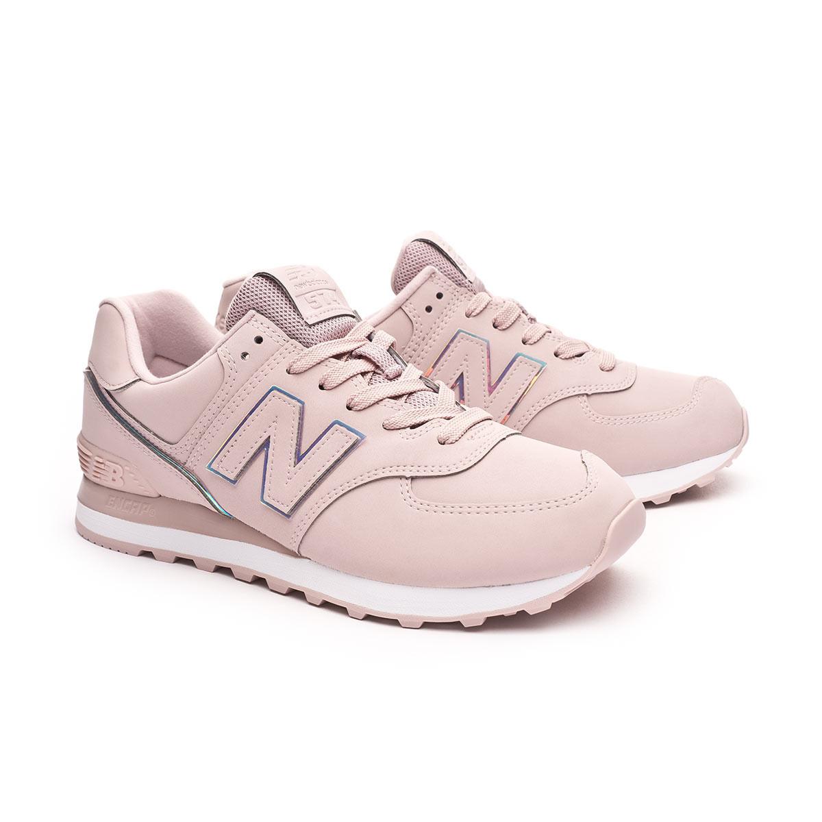 No puedo leer ni escribir primero Bueno  Zapatilla New Balance Classic Running 574 v2 Mujer Pink - Tienda de fútbol  Fútbol Emotion