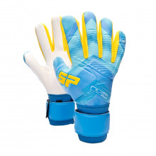 Guante No Goal Zero Training Blue-Yellow