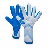 Glove Kids No Goal Zero Aqualove Grey-Blue