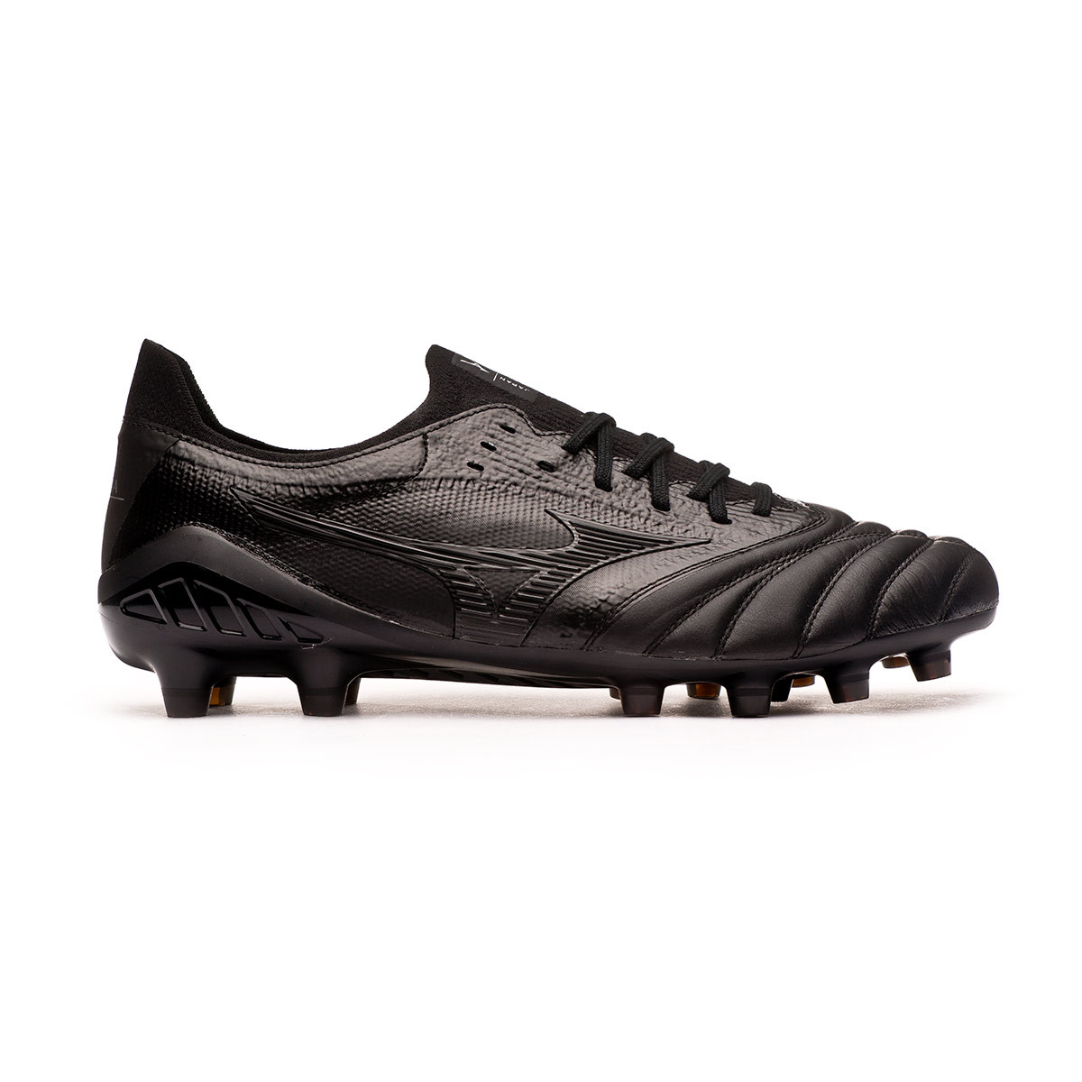 zapatos de futbol mizuno en chile negro