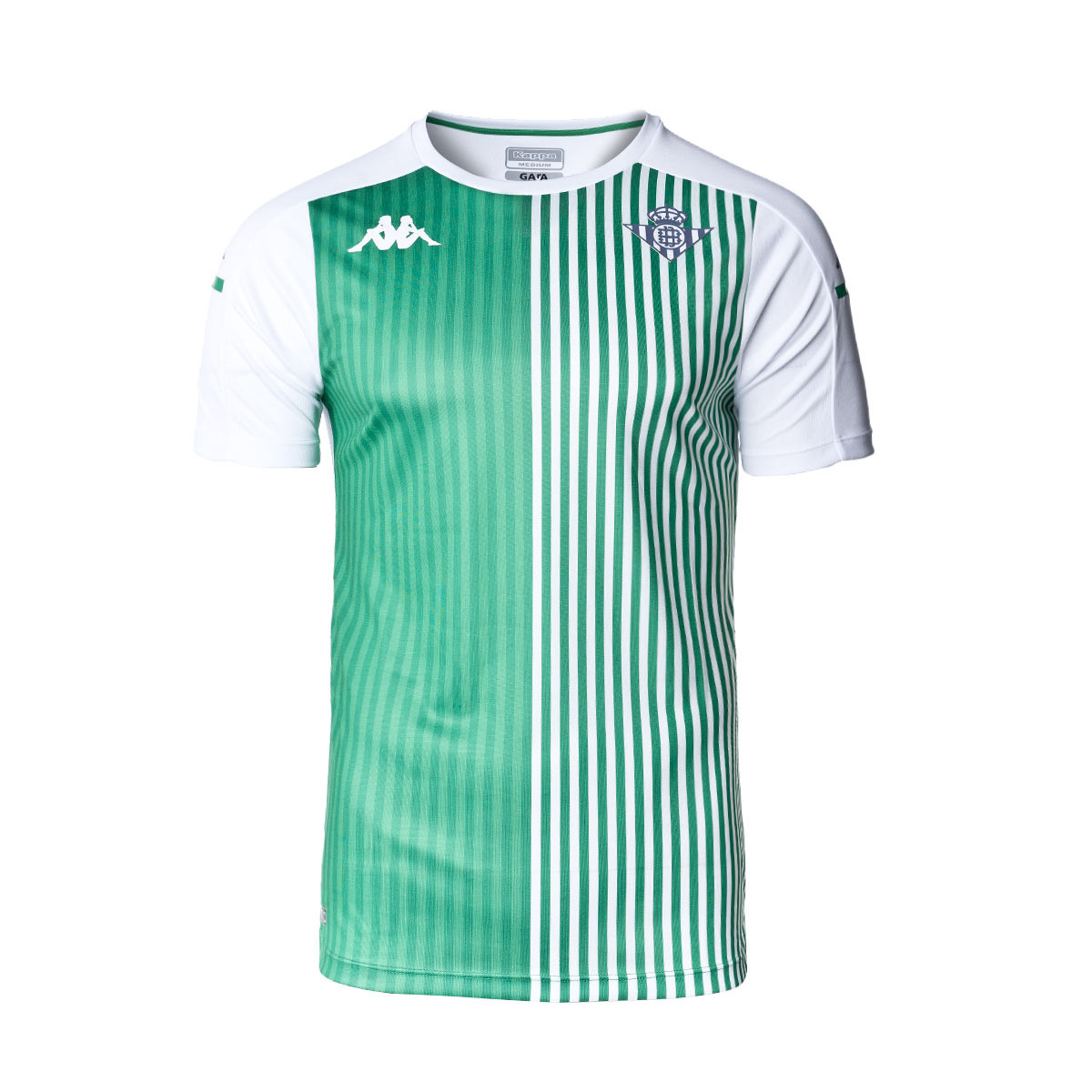 Jersey Kappa Real Betis Balompié PreMatch 2020-2021 White-Green ...