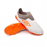 Football Boots Velocita V Elite FG White-Carrot-Frost gray