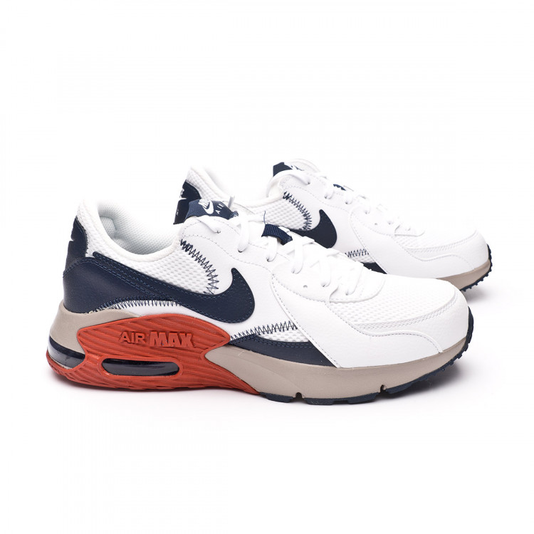 Air Max Excee White-Obsidian-Enigma stone-Firewood orange