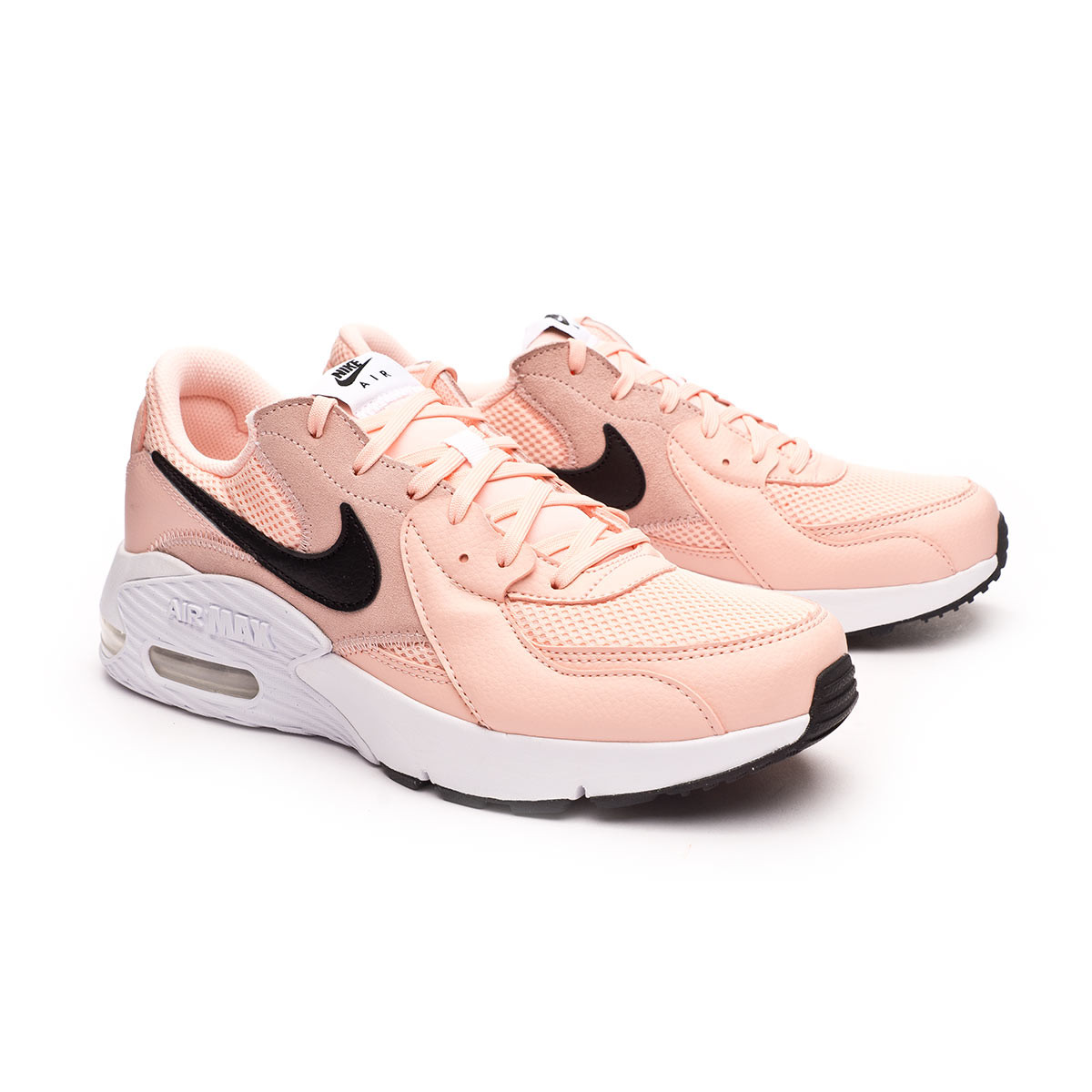 Mata Caprichoso collar  Trainers Nike Air Max Excee Mujer Washed coral-White-Black - Football store  Fútbol Emotion