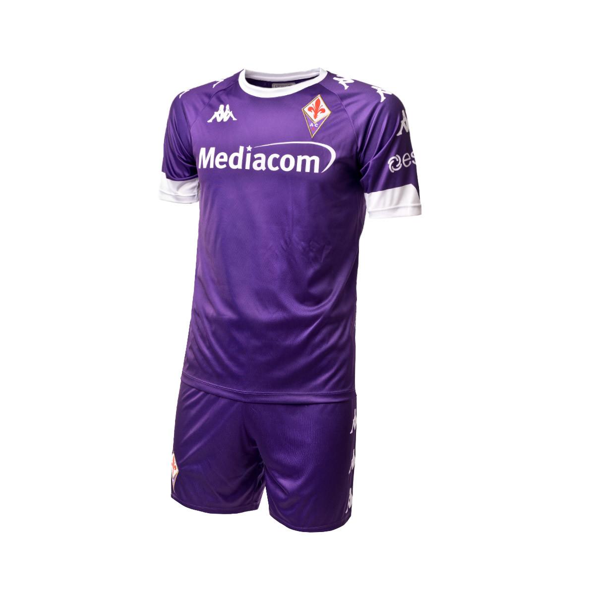 Completo Kappa AS Monaco FC Primo Kit 2020-2021 Bambino