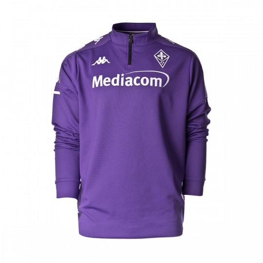 Felpa Kappa ACF Fiorentina Training 2020-2021 Violet-White