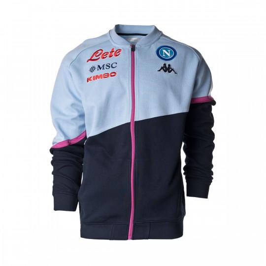 Jacket Kappa SCC Napoli 2020-2021 Blue-Grey-Pink