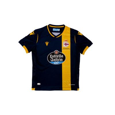 Macron Kids RC Deportivo La Coruña Authentic 2020-2021 Away Jersey