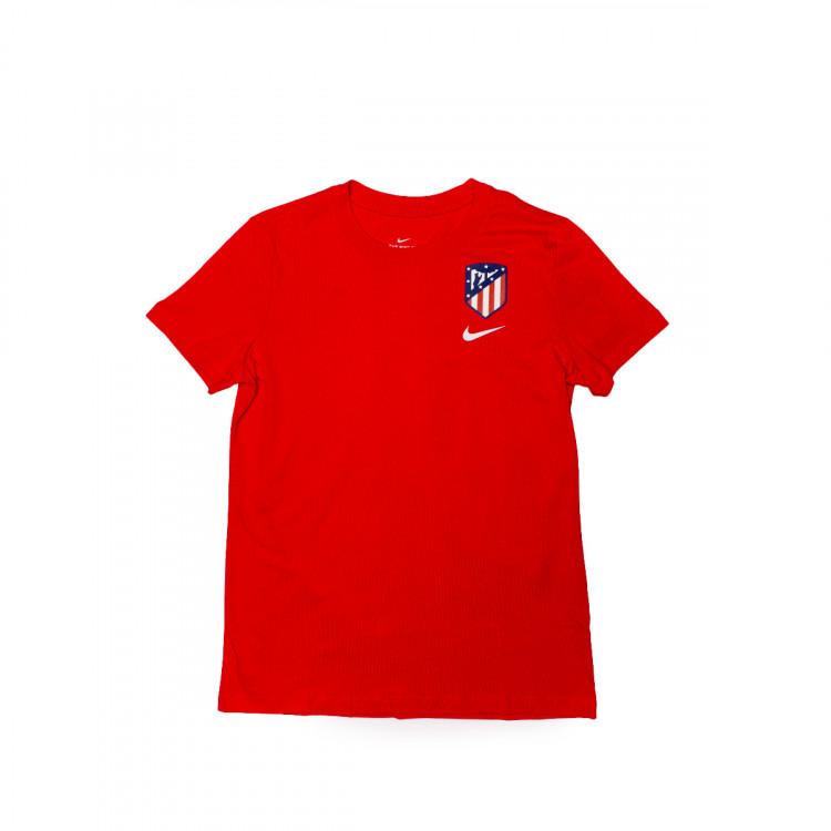 Canoa vocal espectro  Playera Nike Atlético de Madrid Evergreen Crest 2020-2021 Mujer Sport red -  Tienda de fútbol Fútbol Emotion