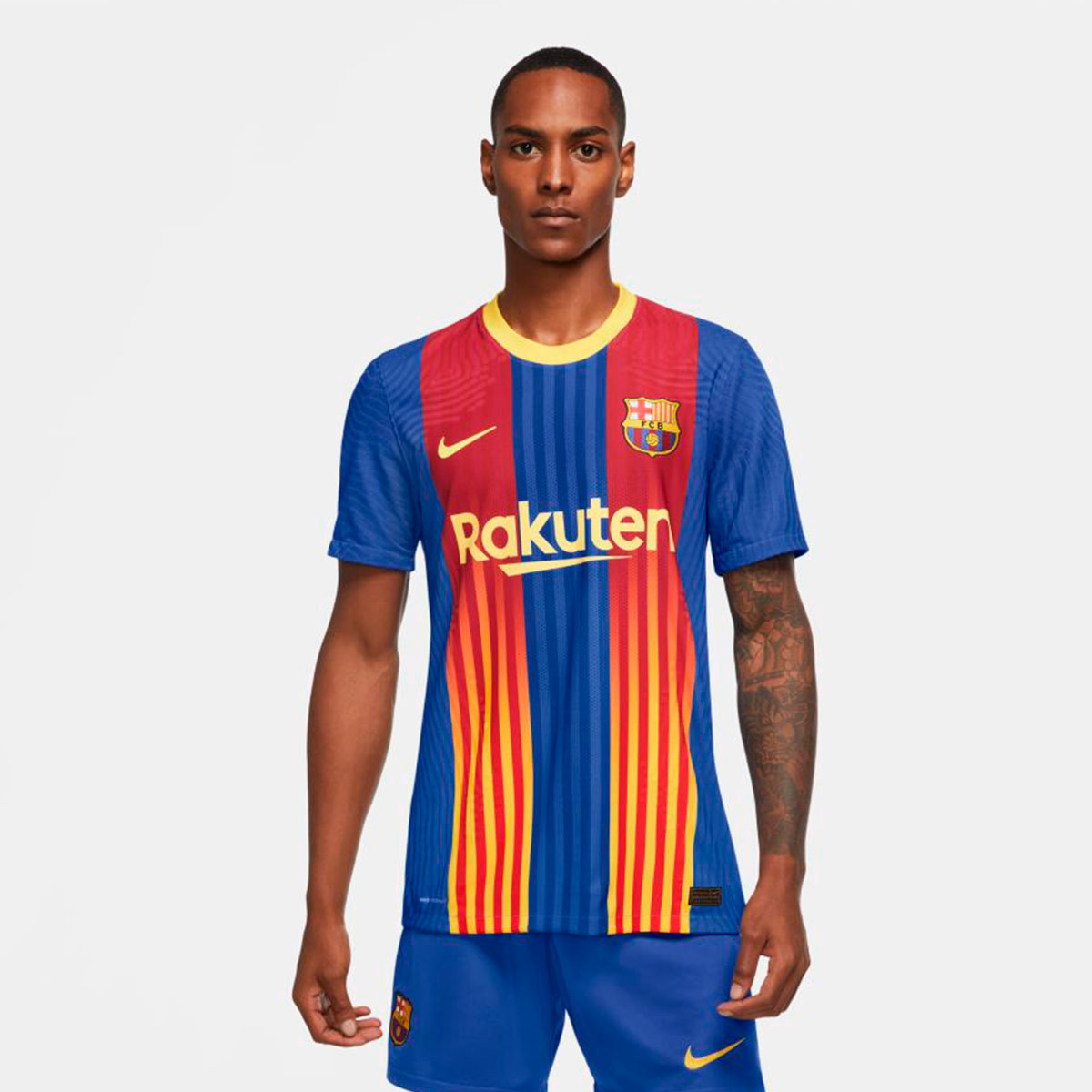 Maglia Nike FC Barcelona Vapor Match El Clásico 2020-2021