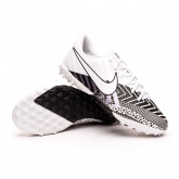 Football Boots Kids Mercurial Vapor XIII Academy MDS Turf White-Black
