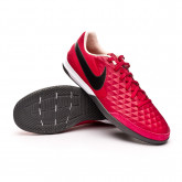 Futsal Boot Tiempo Legend VIII Academy IC Cardinal red-Black-Crimson tint-White-Iron gr