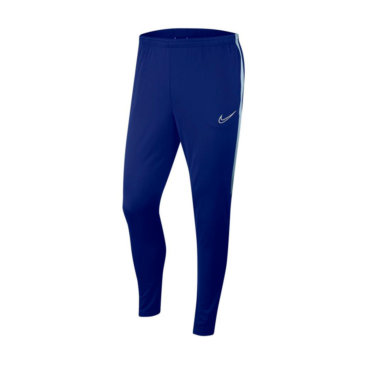 Asistencia Despedida Samuel  Long pants Nike Dri-Fit Academy KPZ Deep royal blue-Lite armory blue-White  - Football store Fútbol Emotion