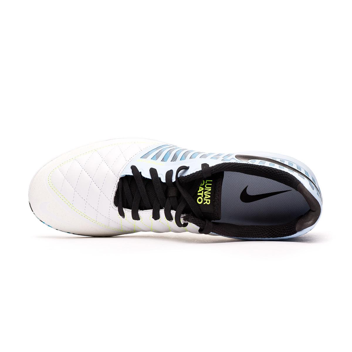 Enorme policía Odio  Tenis Nike Lunar Gato II Celestine blue-Black-Laser blue-Volt-Iron gre -  Tienda de fútbol Fútbol Emotion