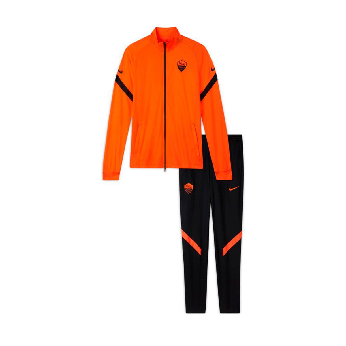 cerrar Maestría Cien años  Chándal Nike AS Roma Strike K CL 2020-2021 Safety orange-Black - Tienda de  fútbol Fútbol Emotion