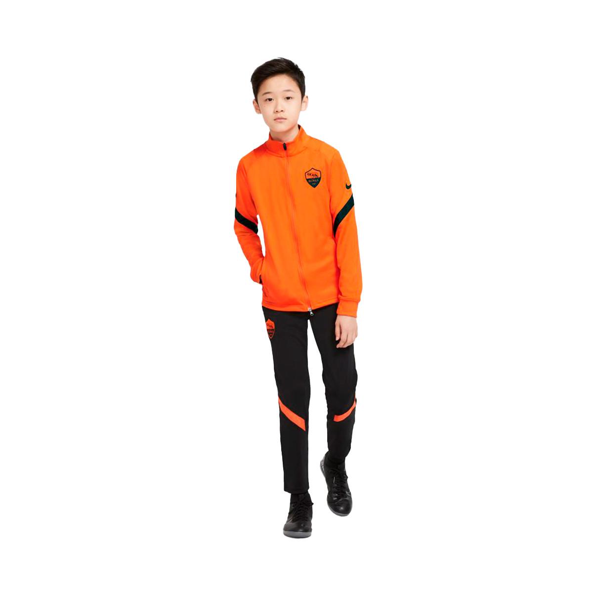 libertad Indica reporte  Chándal Nike AS Roma Dri-Fit Strike CL 2020-2021 Niño Safety orange-Black -  Tienda de fútbol Fútbol Emotion