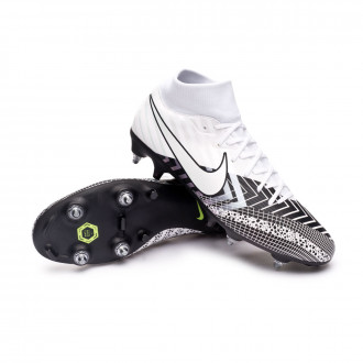 Mercurial Superfly VII Academy MDS SG-PRO Anti-Clog Traction White-Black