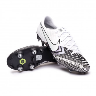 Mercurial Vapor XIII Academy MDS SG-PRO Anti-Clog Traction White-Black