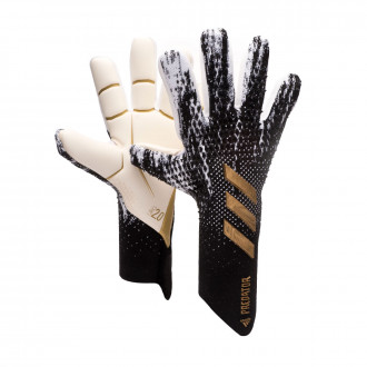 Predator Pro Niño Black-White-Gold metallic