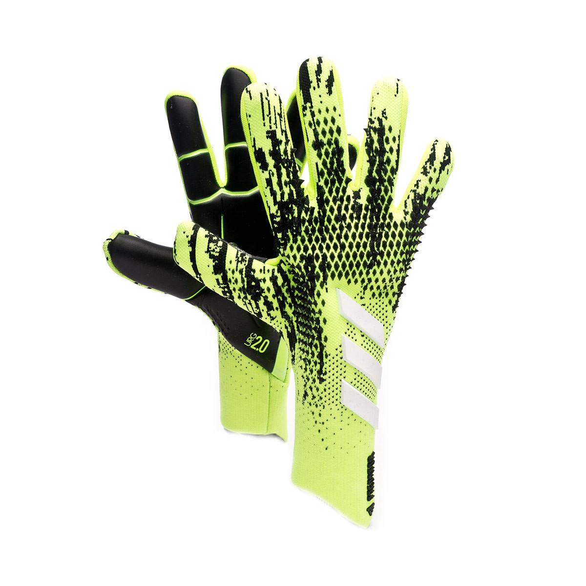 Anterior famélico escritura  Glove adidas Predator Pro Signal green-Black-Energy ink-White - Football  store Fútbol Emotion