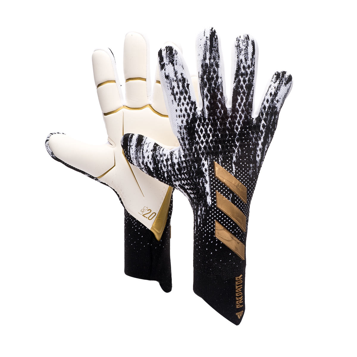 Mejorar Mal funcionamiento Bien educado  Guante de portero adidas Predator Pro Black-White-Gold metallic - Tienda de  fútbol Fútbol Emotion