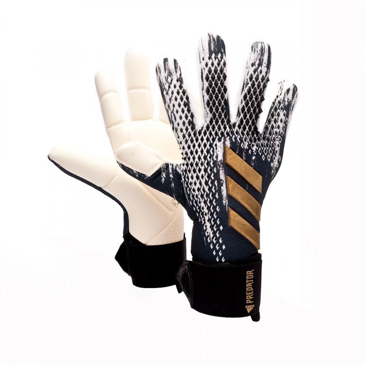 responsabilidad tenga en cuenta donde quiera  Guante de portero adidas Predator Competition Black-White-Gold metallic -  Tienda de fútbol Fútbol Emotion