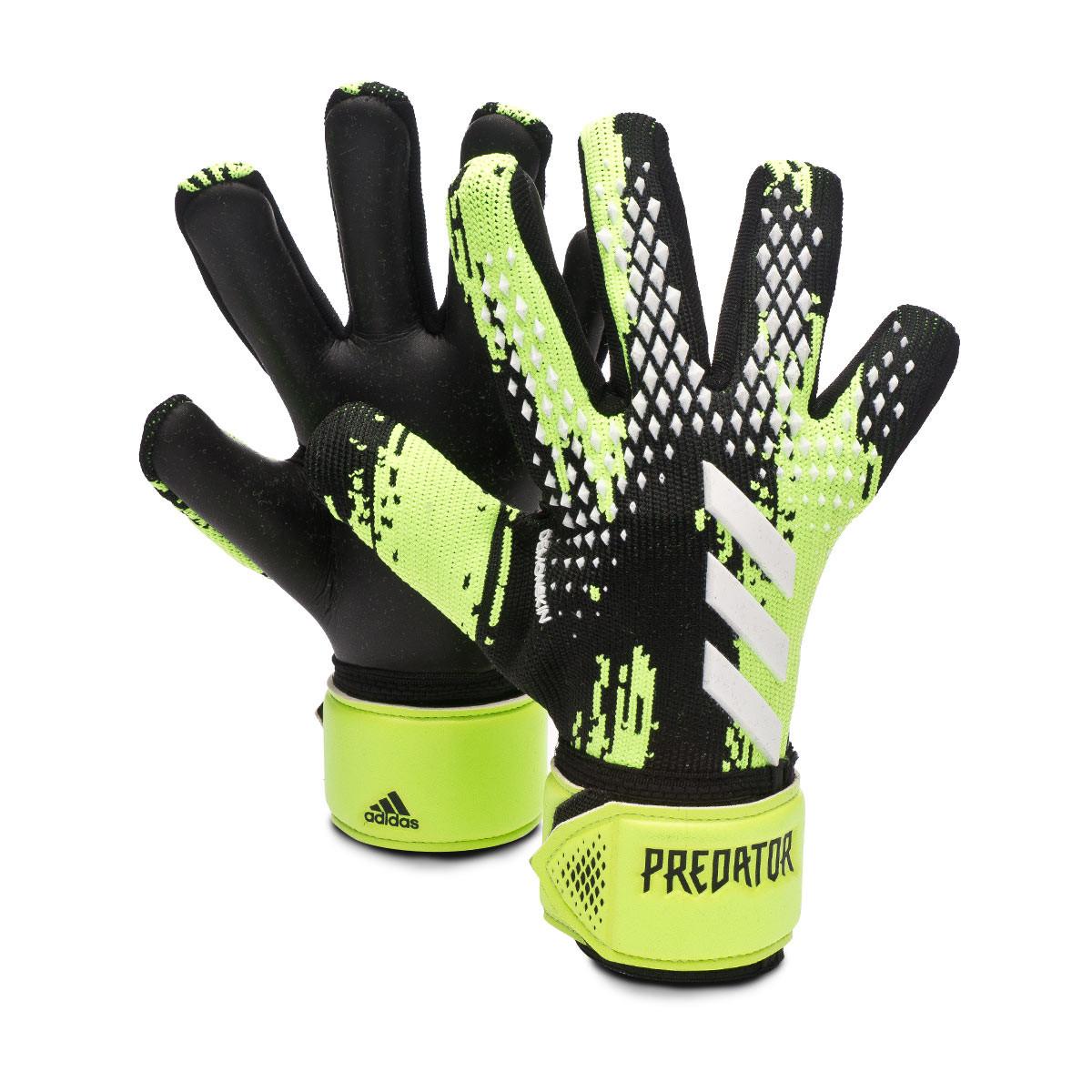 Ocurrencia Neuropatía Ahuyentar  Guante de portero adidas Predator League Niño Signal green-Black-White -  Tienda de fútbol Fútbol Emotion