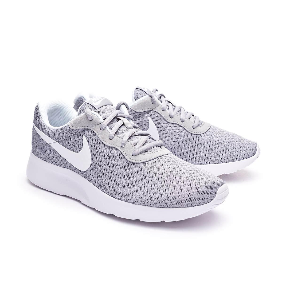 acero más Recepción  Zapatilla Nike Tanjun Mujer Wolf grey-White - Tienda de fútbol Fútbol  Emotion