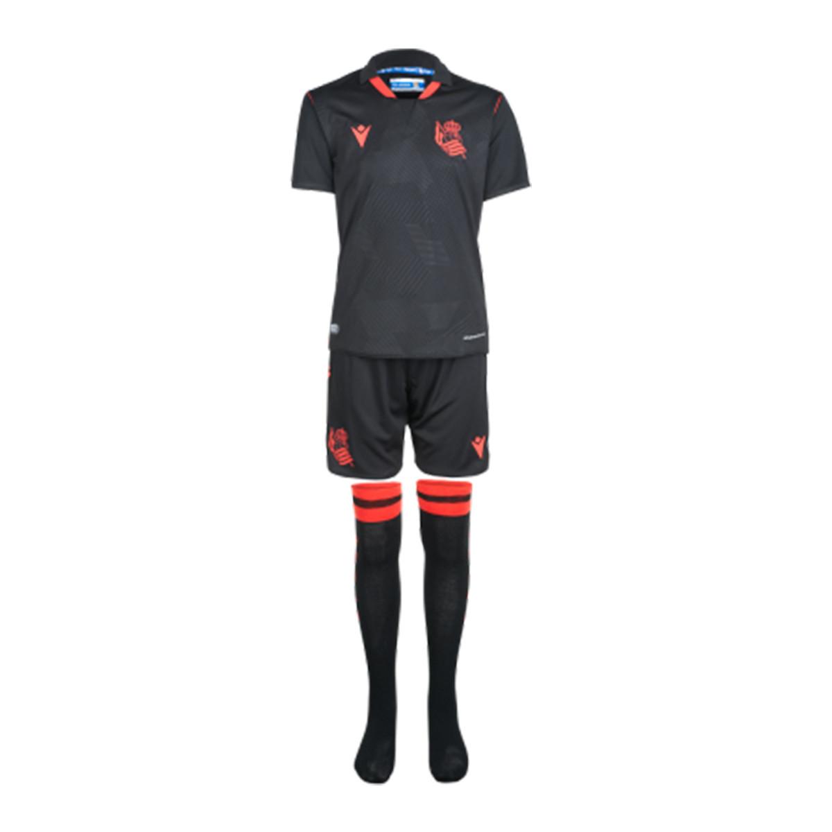 Macron Kids Real Sociedad Away Kit 2020-2021 Kit