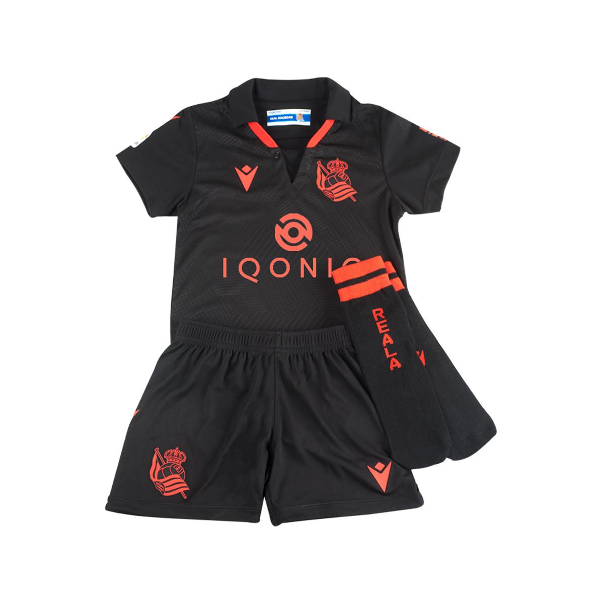 Macron Infant Real Sociedad Away Kit 2020-2021 Kit