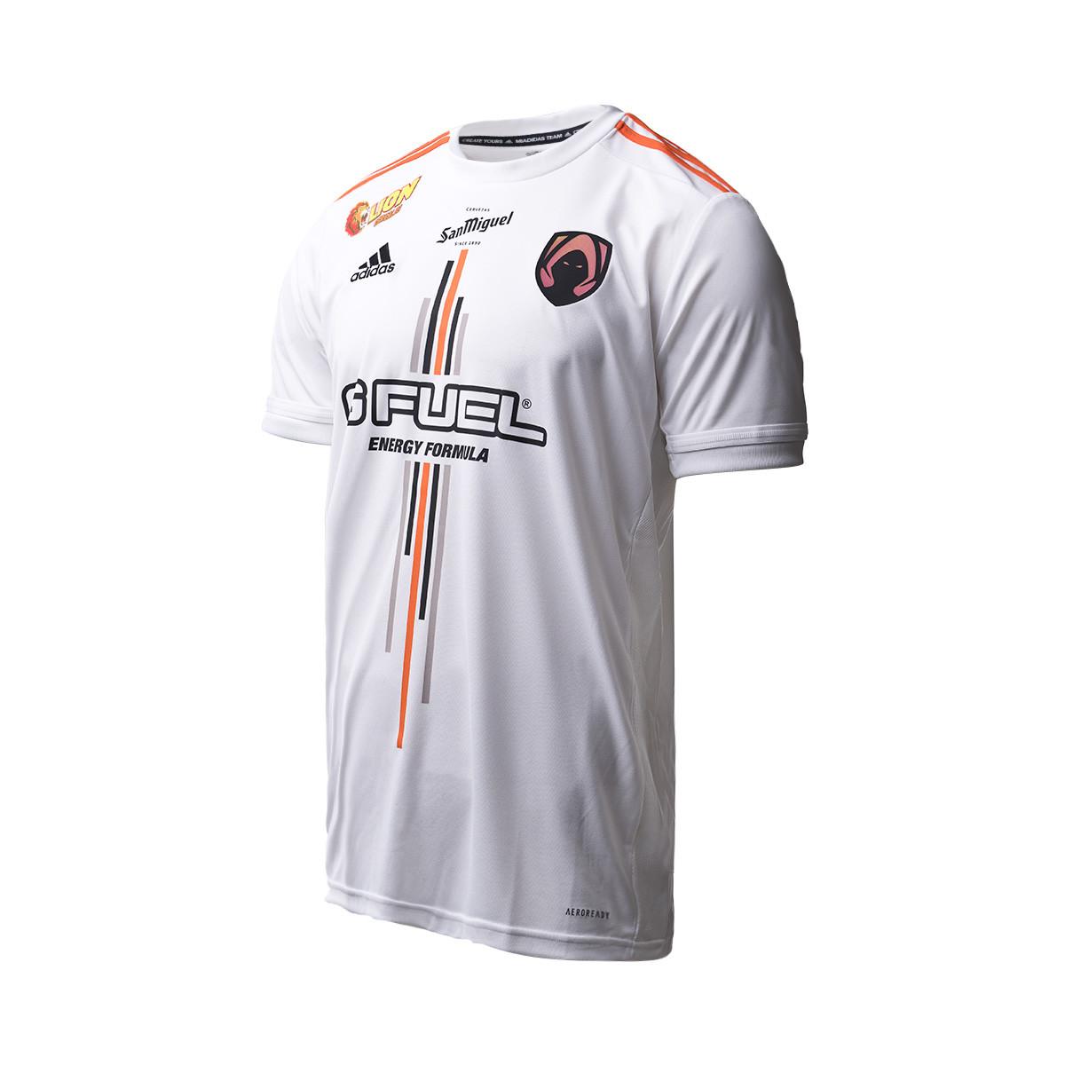 Microordenador huevo Por  Camiseta adidas Heretics Primera Equipación 2020-2021 White - Tienda de  fútbol Fútbol Emotion