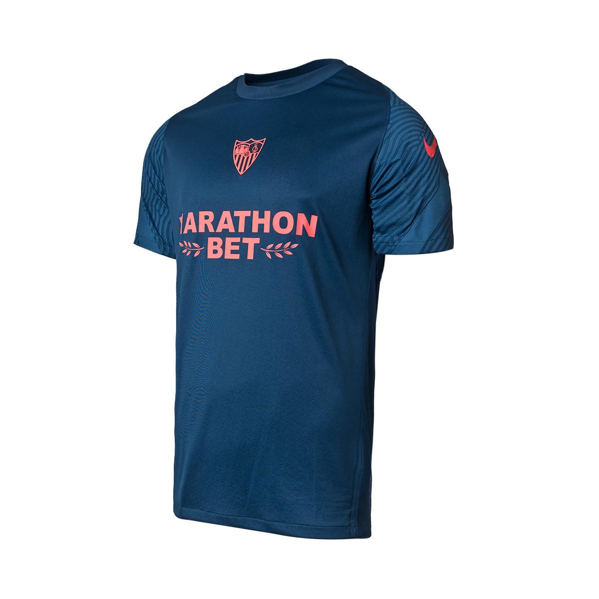 En el nombre Puntuación domesticar  Jersey Nike Sevilla FC Training 2020-2021 Blue - Football store Fútbol  Emotion