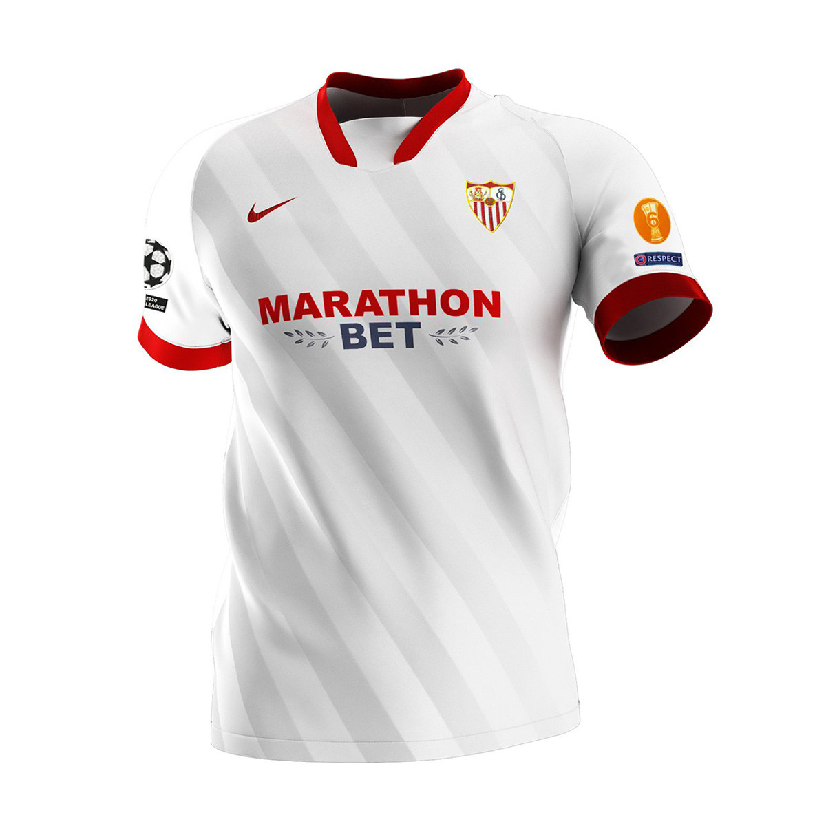 Nike Sevilla FC Champions 2020-2021 Home Jersey