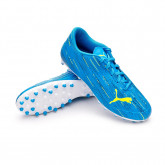 Zapatos de fútbol Ultra 4.2 MG Niño Nrgy blue-Yellow alert