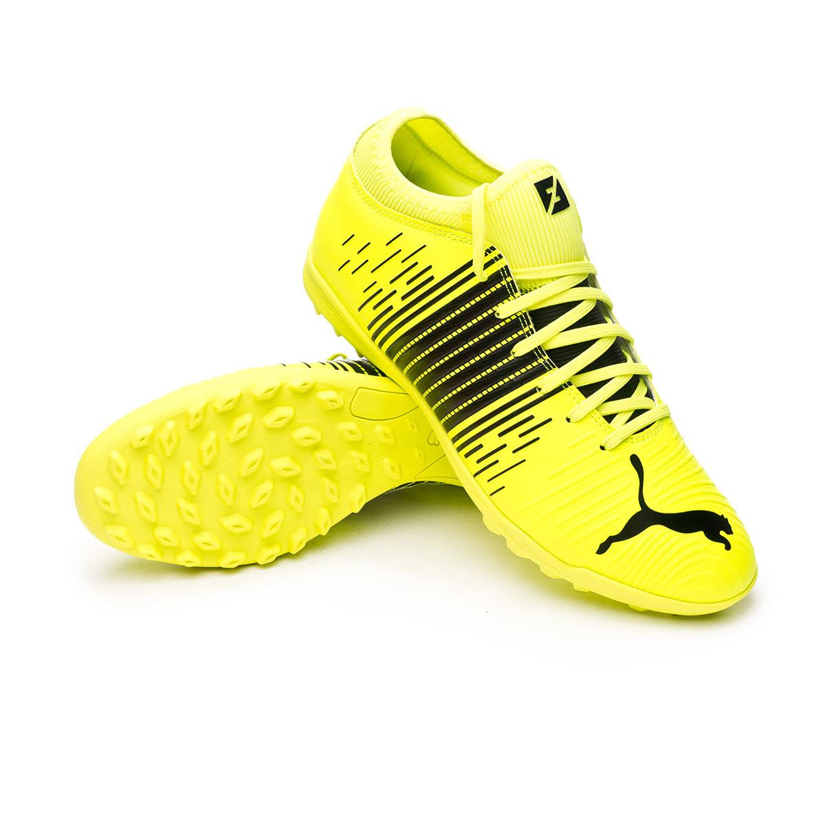 Football Boots Puma Future Z 4.1 Turf Yellow alert-Puma black-Puma ...