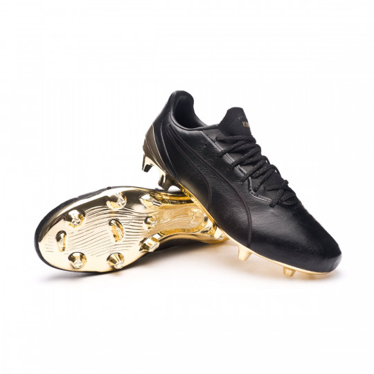 Football Boots Puma KING Platinum FG/AG Puma Black-Puma Team Gold