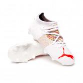 Bota Future Z 3.1 FG/AG Niño Puma White-Red Blast