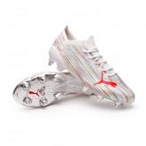 Scarpe Ultra 1.2 MXSG Puma White-Red Blast-Puma Silver