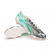 Football Boots Ultra SL 21 FG Puma White-Spectra Green-Puma Black