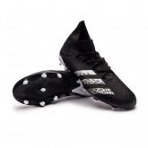 Zapatos de fútbol Predator Freak .3 FG Core black-White