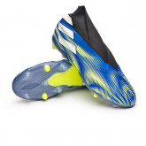 Zapatos de fútbol Nemeziz + FG Niño Team royal blue-White-Solar yellow
