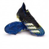 Zapatos de fútbol Predator Freak .1 FG Black-White-Solar yellow