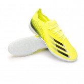 Football Boots X Ghosted.1 Turf Solar yellow-Black-Team royal blue