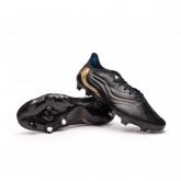 Zapatos de fútbol Copa Sense.1 FG Black-White-Gold metallic