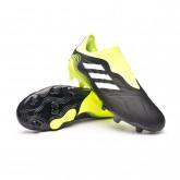Zapatos de fútbol Copa Sense.3 LL FG Black-White-Solar yellow
