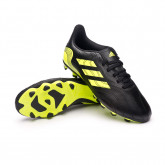 Zapatos de fútbol Copa Sense.4 FxG Niño Black-Solar yellow