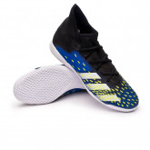 Futsal Boot Predator Freak .3 IN Black-White-Royal blue