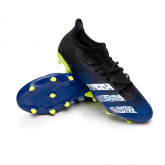 Zapatos de fútbol Predator Freak .3 L FG Black-White-Solar yellow