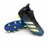 Zapatos de fútbol Predator Freak .3 LL FG Black-White-Solar yellow